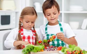 Curso de Culinária Kids para Crianças dos 5 aos 12 anos por 16€ em Carcavelos!