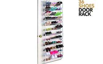 Organize os seus Sapatos: Estante-Sapateira Door Rack por apenas 24€!