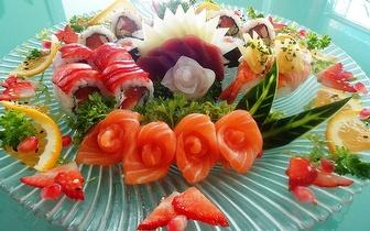 Menu de Sushi ao Jantar para Grupos por 14,90€/pessoa em Mem Martins!