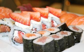 Menu de Sushi para Grupos ao Almoço por 14,90€/pessoa em Mem Martins!