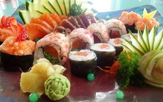Menu de Sushi ao Almoço para Grupos por 14,90€/pessoa em Cascais!