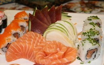 Menu de Jantar de Sushi para Grupos por 14,90€/pessoa em Cascais!