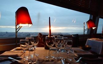 Almoce com requinte e vista sobre a cidade do Porto por 19€ por pessoa!