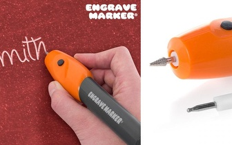 Identifique os seus pertences: Caneta Gravadora Engrave Maker por apenas 5,90€!