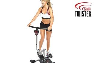 Trabalhe todo o seu Corpo com o Aparelho de Exercícios Cardio Twister por 83,90€!