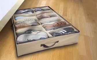 Organizador de Sapatos com 12 Compartimentos por apenas 6€!