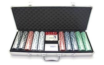 Mala Profissional de Poker com 500 Fichas por apenas 28€!