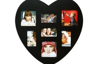 Exponha as suas fotografias no Porta-retratos de Madeira em forma de Coração por apenas 9,90€!