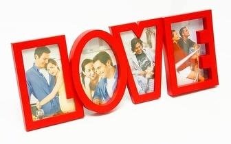 Ofereça a alguém especial o Porta-Retratos Love por apenas 7,50€!