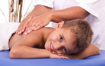 Massagem de 30min para Crianças dos 3 aos 9 anos por apenas 5€ em Oeiras!