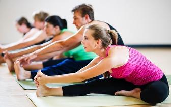 1 Mês/4 Aulas de Yoga ou Pilates por apenas 28€ em Belas!