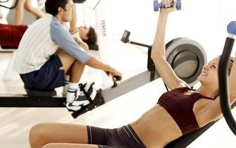 Treine mensalmente em ginásio sem limites com 50% desconto!!!!