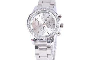 Relógio Prateado para Senhora por apenas 15,90€!