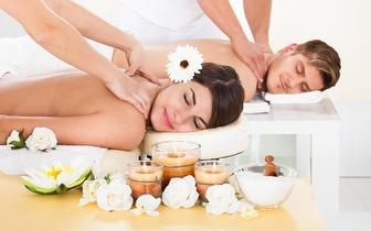 Massagem para casal com Óleos Essenciais por 39,90€ junto ao Marquês de Pombal!