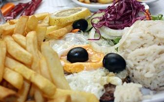 Menu de Almoço aos Sábados para 2 Pessoas por 15€ junto à Praça de Espanha!