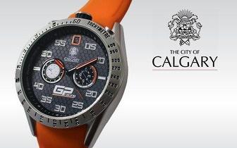 Relógio Calgary GP Racing 2014 por apenas 18,90€ no Porto!