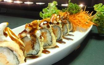 Jantar de Sushi de Fusão para 2 Pessoas: 40 Peças + Cafés por 19€ em Cascais!