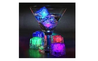 Cubos de Gelo Luminosos 'Light Cubes' por apenas 2€!