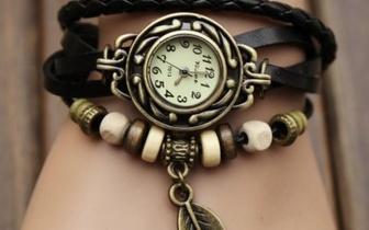 Relógio de Pulso Vintage por apenas 8,90€!