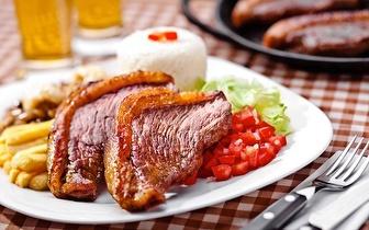 Menu de Picanha + Bebida por 8,90€ ao Almoço em Mem Martins!