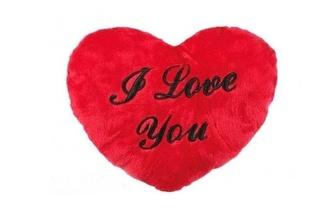 Coração de peluche I Love You (35cm) por 9,90€!