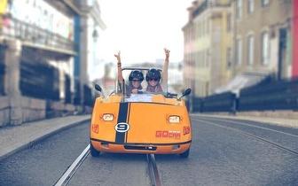 Passeio por Lisboa para 2 pessoas em GoCar por 17€!