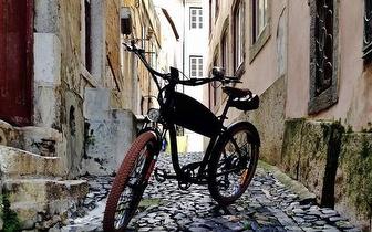 Passeio por Lisboa numa Bicicleta Vintage com Guia Turístico por 17,50€/pessoa!