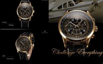 Relógio Aviator da marca Kronen & Söhne por apenas 39,90€!