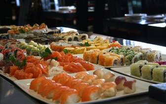 Saboreia um Delicioso Sushi: All You Can Eat ao Jantar por 14€ na Av. José Malhoa!