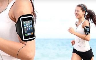 Ouça Música enquanto Corre: Arm Band para Smartphone por 4,55€!