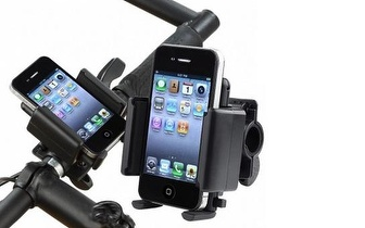 Suporte Universal de Bicicleta para Smartphones por 6,25€!