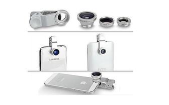 Tire Fotos Divertidas: Lentes Universais para Telemóveis/Tablets por 9,90€!