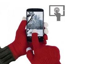 Já pode escrever no seu Smartphone com Luvas: Luvas Tácteis por 3€!