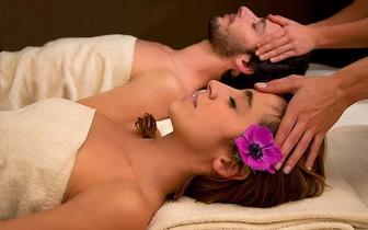 Circuito de Sauna & Jacuzzi + Massagem de Relaxamento + Fondue de Chocolate para 2 por 60€ em Leiria!
