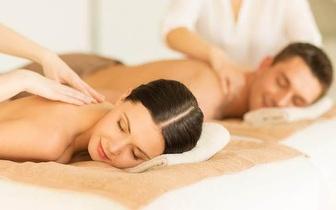 Especial Dia dos Namorados: Massagem de Relaxamento para Casal por 59€ em Carnaxide!