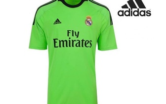 Camisola Oficial do Real Madrid Verde da Adidas apenas 27,50€! Entrega em todo o País!
