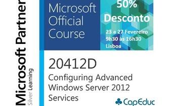 Curso Oficial Microsoft Windows Server Certificado por apenas 645€ em Lisboa!