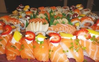 Sushi à La Carte com 40% de Desconto em Fatura ao Almoço em Cascais!