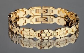 Elegante Pulseira da Yves Camani banhada a Ouro fino por apenas 34,90€!