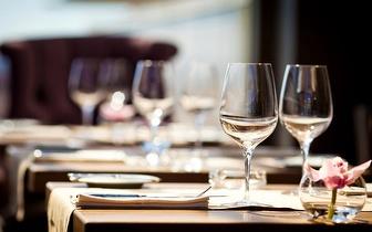 Menu 2 por 1 ao Jantar no Open Brasserie junto à Avenida da Liberdade!
