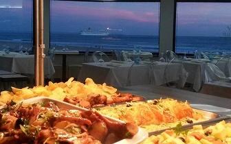 Jantar Buffet ao Domingo com Vista para o Mar apenas 8€ em Carcavelos!