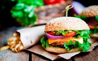 Jantar/Lanche: Menu de Hambúrger | Cachorro | Wrap | por 6,90€ em Picoas !