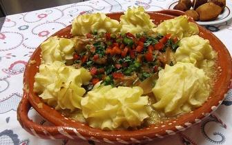 Cozinha Regional Minhota com oferta de Bebida, Sobremesa e Café em Terras de Bouro!